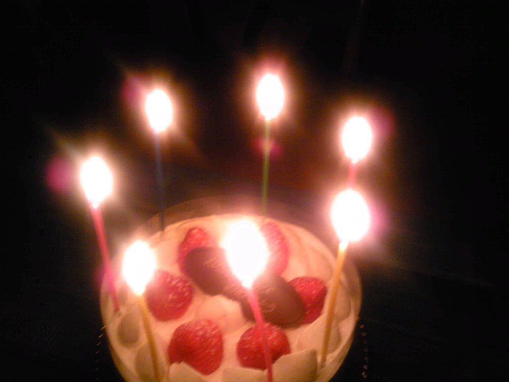 家族の誕生日